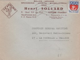 85 LUCON HENRI SOULARD BROSSERIE JOUETS BIMBELOTERIE - France