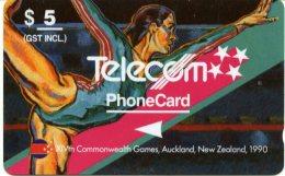 @+ Nouvelle Zelande : Jeux Du Commonwealth 1990 - Gymnastic - Nouvelle-Zélande