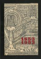Plaquette Publicitaire 1953 CHAMPAGNE Massé Reims (tirage 2000) Illustr. Brigitte SIMON - Pubblicitari