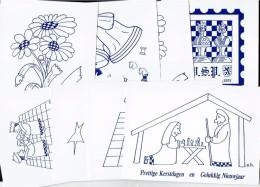 Schaken Schach Chess Ajedrez échecs - 8 Kaarten - Echecs