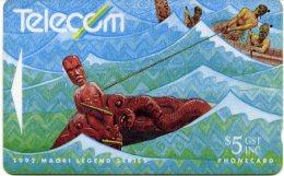 @+ Nouvelle Zelande : Maori Legends 1992 - Peche - Nouvelle-Zélande