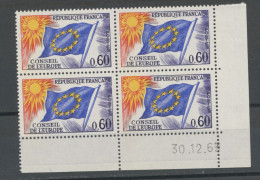 FRANCE -  SERVICE COIN DATÉ DU 30/12/63 - N° Yvert  34 ** - Service