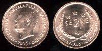 SAMOA I SISIFO  2 SENE  2.000 (1.999)  BRONCE  KM#122  SC/UNC        T-DL-10.315 - Samoa