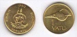 VANUATU 1 VATU Niquel Laton 1.990 Km#3 SC/UNC    T-DL-11.310 - Vanuatu