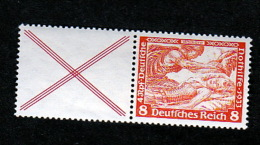 Deutsches Reich **  W51  Nothilfe Wagner Zusammendruck Katalog   80,00 - Se-Tenant