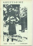 Fascicule WWII Ghetto Post ,par Schaerlaeken , 31 P. , 1989  --  15/281 - Militärpost & Postgeschichte