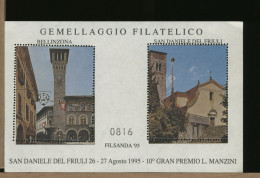 ITALIA SVIZZERA - SAN DANIELE - BELLINZONA - TORRE  OROLOGIO CLOCK - Orologeria