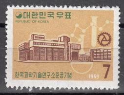 Korea-south    Scott No. 689   Unused Hinged   Year  1969 - Korea (Zuid)