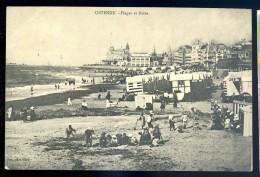 Cpa De Belgique Ostende - Plage Et Bains     LIOB96 - Oostende