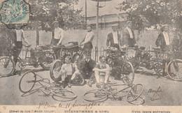 Dickentmann & Robl Avec Leur Entraineurs - Ciclismo