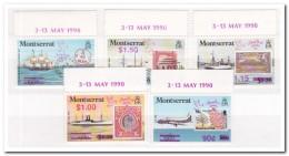Montserrat 1990, Postfris MNH, Stamp On Stamp - Montserrat