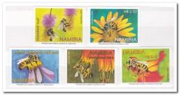 Namibië 2004, Postfris MNH, Flowers, Bees - Namibië (1990- ...)