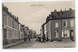 Pas De Calais : Lillers : Rue D'Aire - Lillers