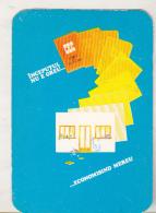 Romanian Small Calendar - 1981 CEC Bank - Calendrier , Roumanie - Calendriers