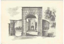 Dozza - Bologna: Rocca Sforzesca (sec. XIII) - Porta D'ingresso Con Bastioni, Sullo Sfondo La Rocchetta - Bologna