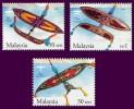 Malaysia 2005 S#1059-1061 Traditional Kites MNH Sport - Malaysia (1964-...)