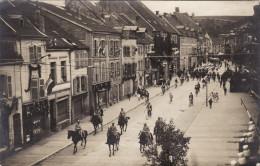 Saint-Avold - Rue Du Général Hirschauer - Carte Photo - Défilé Du 14 Juillet 1919 (?) - Saint-Avold