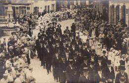 Saint-Avold - Place De La Victoire - Carte Photo - Défilé Du 14 Juillet 1919 (?) - Saint-Avold