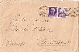 BUSTA AFFRANCATA PROPAGANDA DI GUERRA CENT. 50 - Storia Postale