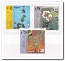 Nepal 2001, Postfris MNH, Plants - Nepal