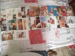 LOT DE 30 CARTES FANTAISIES...BEBE ...... - Cartoline