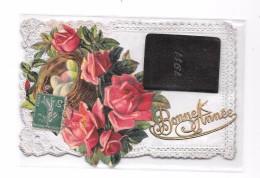 9090 - CPA Fantaise, Bonne Année, Calendrier 1911 - Neujahr