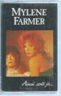 "K7 Audio -  MYLENE FARMER  "" AINSI SOIT JE... ""  11 TITRES - Cassettes Audio"