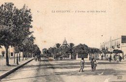 V3709 Cpa  La Goulette - L'avenue De Sidi Bou Said - Tunisie