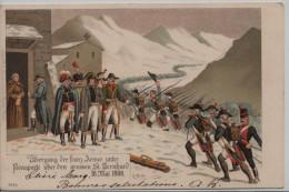 Übergang Der Franz. Armee Unter Bonaparte über Den Grossen St. Bernhard 18. Mai 1800 - VS Valais