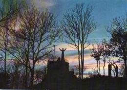 Santuario Di Belmonte M. 727 - Frati Francescani - Valperga Canavese (TO) - Monumento A S. Francesco - Tramonto. - Italia