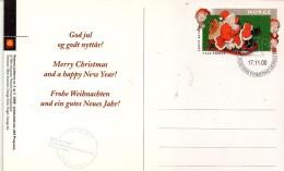 PIA - NORVEGIA - 2000 : Natale - Cartolina Di Auguri - FDC