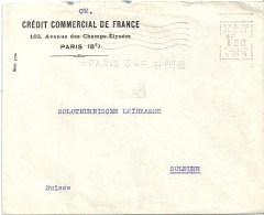 """Motiv Brief  """"Crédit Commercial De France, Paris""""              1930 - Lettres & Documents"""