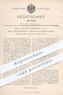 Original Patent - Otto Zierath In Bernburg , 1893 , Saugpumpe U. Druckpumpe Zur Reinigung Von Rohrleitungen , Pumpen !! - Historische Dokumente