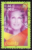FRANCE  2001  -  Y&T  3394  -  Dalida  -  Oblitéré - Used Stamps
