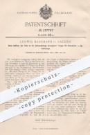Original Patent - Ludwig Baurmann In Aachen , 1901 , Bewegbare Treppe Für Eisenbahn - Fahrzeuge , Eisenbahnen !!! - Historische Dokumente