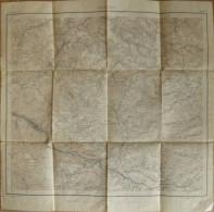 Höllsteig Blatt 118 - 54cm X 56cm - 1:25'000 - Grossherzoglich Topographisches Bureau 1898 - Leinenverstärktes Papier - Topographische Karten