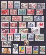 DANEMARK Timbres Avec Surtaxe Oblitérés - Collections