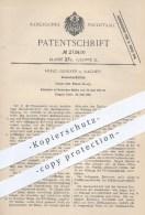 Original Patent - Hugo Junkers In Aachen , 1910 , Kreiselverdichter , Verdichter , Verdichten , Schaufel , Schaufeln - Historische Dokumente