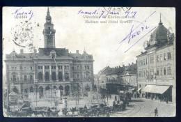 Cpa De Serbie -- Ujvidek  -- Rathaus Und Hotel Kovacs   LIOB97 - Serbie