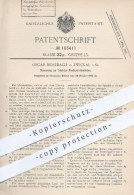 Original Patent - Oscar Mosebach In Zwickau , 1905 , Trichter - Farbenreibmühlen , Mühlen , Mühle , Müllerei , Mahlstein - Historische Dokumente