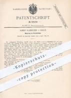 Original Patent - Albert Rammoser , Berlin , 1885 , Korsettstäbe , Korsett , Bekleidung , Mode , Schneider , Schneiderei - Historische Dokumente