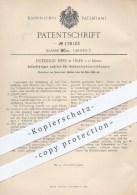 Original Patent - Friedrich Hess , Trier / Mosel , 1906 , Selbsttätiger Antrieb Für Betonmischer , Beton , Mischtrommel - Historische Dokumente