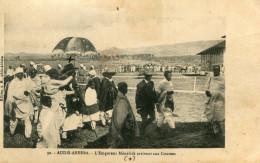 ETHIOPIE(ADDIS ABBEBA) CHAMP DE COURSES(EMPEREUR MENELICK) - Ethiopie