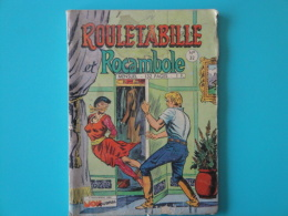 Rouletabille  Et Rocambole N° 32   Mon  Journal   Aventures Et Voyages Petit Format     Bon Etat - Mon Journal