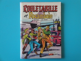 Rouletabille Et Rocambole    N° 40   Mon  Journal   Aventures Et Voyages Petit Format     Bon Etat - Mon Journal