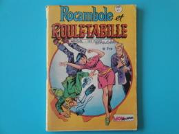 Rouletabille Et Rocambole    N° 41   Mon  Journal   Aventures Et Voyages Petit Format     Bon Etat - Mon Journal