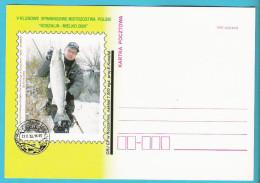 Poland 2009, Postcard Poczta Polska Koszalin Koslin, MNH, Fishing, Peche, Salmon, Saumon, Lachs - Beroepen