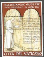 Vatican 2001, 1380 Block 22, Klagemauer, Jerusalem, MNH **, - Unused Stamps
