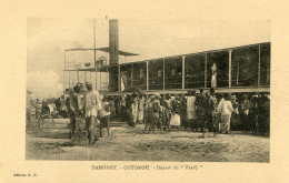 DAHOMEY(COTONOU) BATEAU VAPEUR - Benin