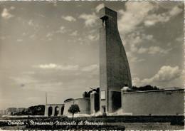 BRINDISI  MONUMENTO  NAZIONALE  AL  MARINAIO     (VIAGGIATA) - Brindisi